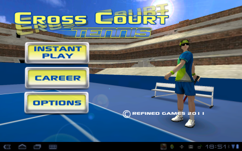 cross court tennis accueil