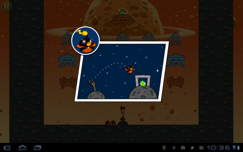 angry birds space bomber