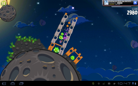 angry birds space ingame 9