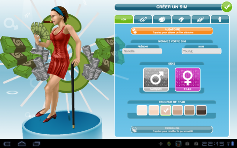 les sims perso