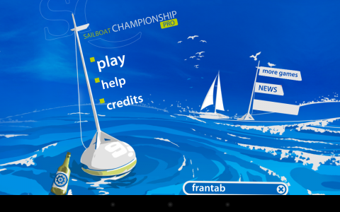 Sailboat Championship acceuil