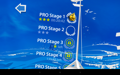 Sailboat Championship stages