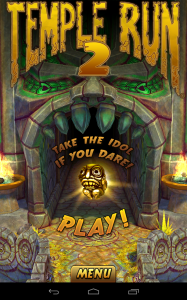 temple run 2 accueil
