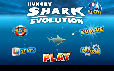 Hungry Shark accueil