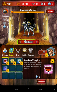 Mighty Dungeons chien enfer