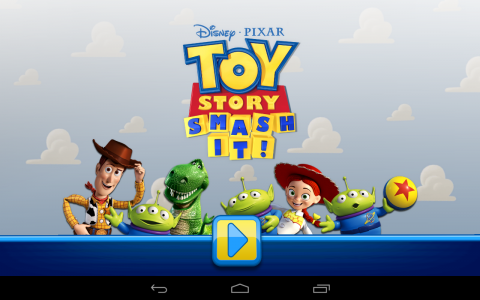 Toy Story accueil