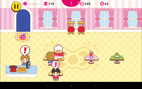 Hello Kitty cafe ingame