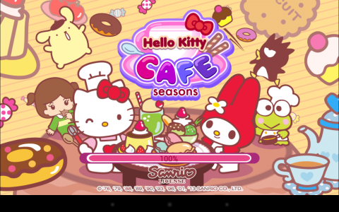 Hello Kitty cafe load