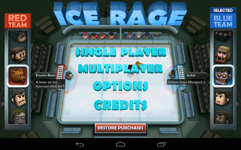 Ice Rage accueil2