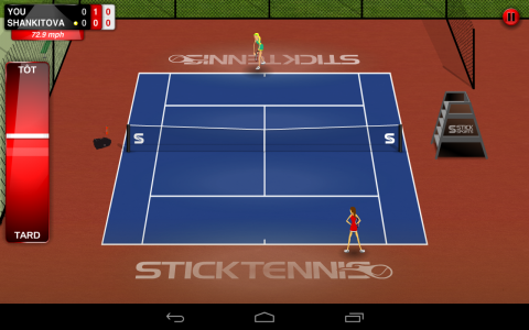 Stick tennis ingame3