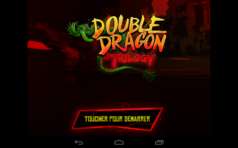 double dragon acceuil