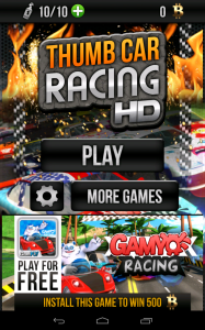 Thumb Car Racing Accueil