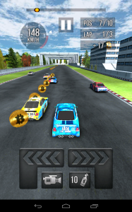 Thumb Car Racing ingame