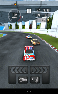 Thumb Car Racing ingame2