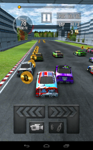 Thumb Car Racing ingame3
