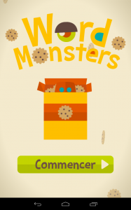 Word monsters accueil